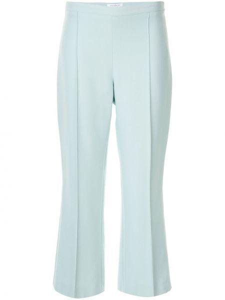 Расклешенные укороченные брюки с поясом Andrew Gn