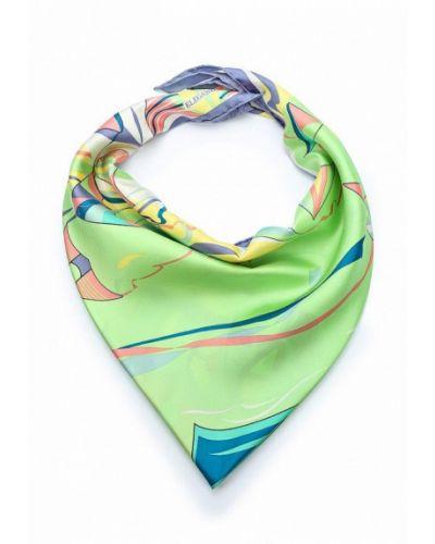 Зеленый платок Eleganzza