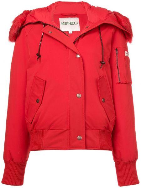 Куртка на молнии с карманами Kenzo