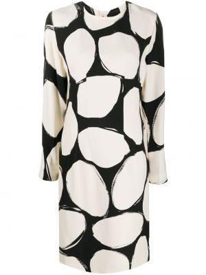 Шелковое платье макси Marni