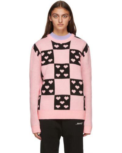 Różowy sweter z długimi rękawami Noon Goons