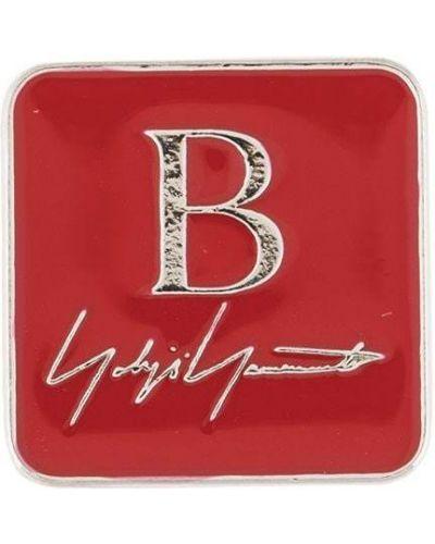 Красная брошь с бабочкой Yohji Yamamoto