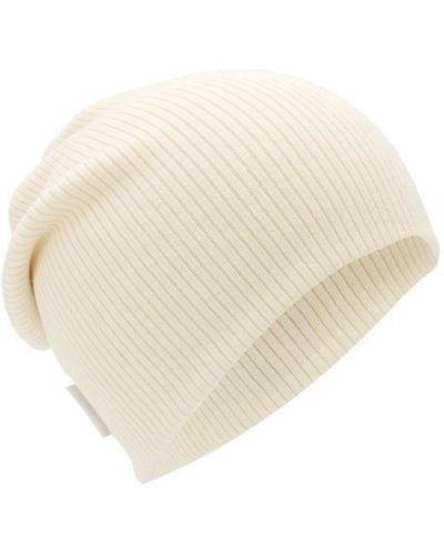 Белая шапка шерстяная Golden Goose Deluxe Brand