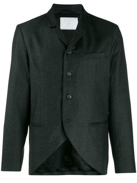 Классический пиджак с карманами с лацканами Société Anonyme