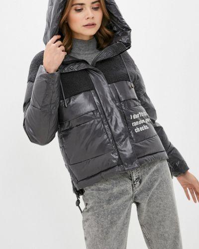 Серая теплая зимняя куртка Winterra