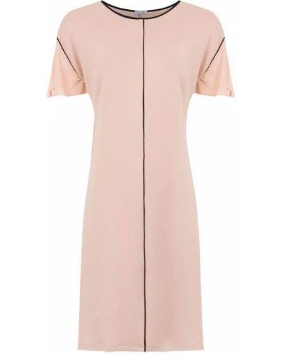 Платье розовое прямое Tufi Duek