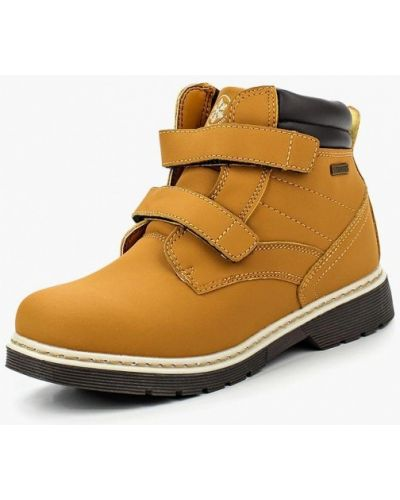 Ботинки из нубука коричневый Strobbs