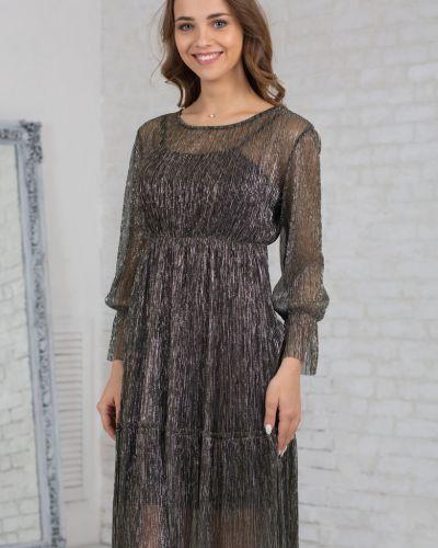 Платье платье-сарафан с вырезом азалия