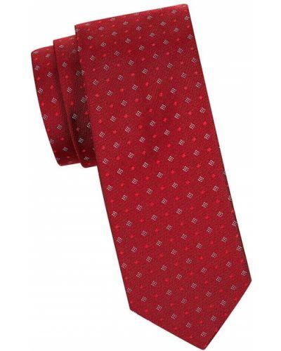 Krawat z jedwabiu z diamentem Hugo Hugo Boss