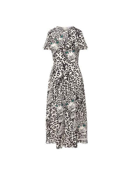 Миди бежевое итальянское платье Redvalentino