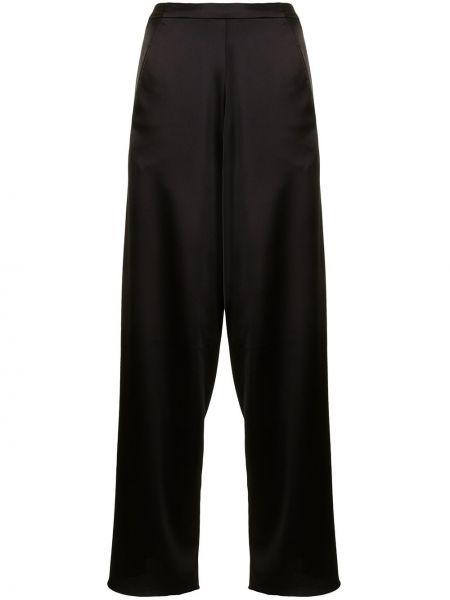С завышенной талией черные брюки с поясом Christopher Esber