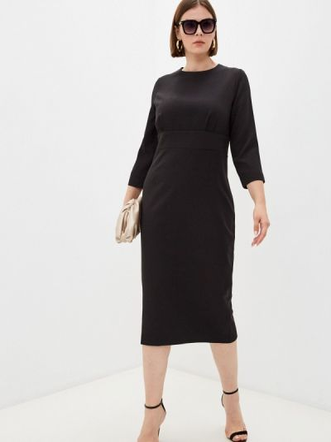 Платье футляр - черное Trendyangel