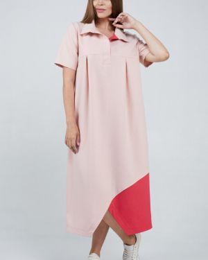 Летнее платье деловое платье-сарафан Ellcora