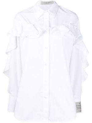 Рубашка оверсайз - белая Golden Goose