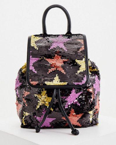 Черный текстильный рюкзак Patrizia Pepe