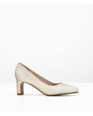 Туфли на каблуке бежевый Bonprix