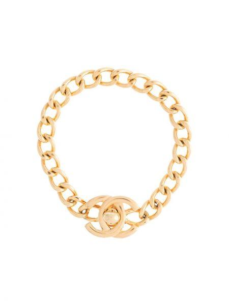 Bransoletka ze złota złoto Chanel Pre-owned