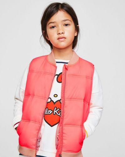 Пальто стеганое из полиэстера Mango Kids