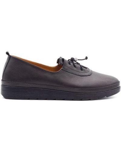 Кожаные туфли - черные Sherlock Soon