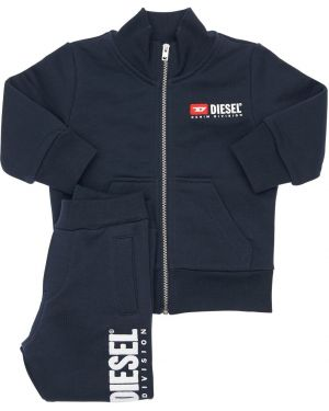 Bluza z logo elastyczny Diesel Kids