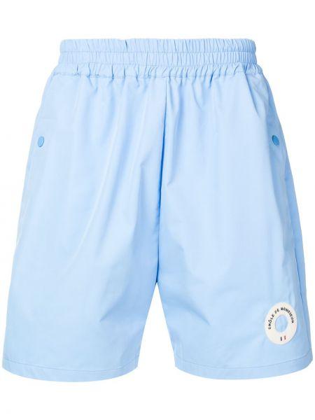 Niebieskie krótkie szorty Drole De Monsieur