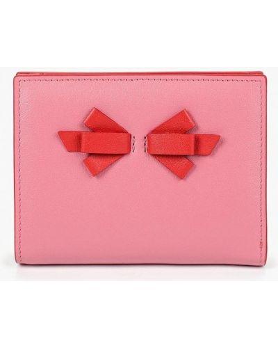 Розовый кошелек итальянский Fabretti