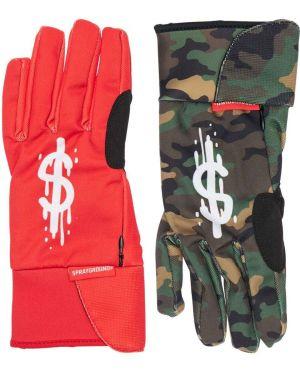 Rękawiczki z printem Sprayground