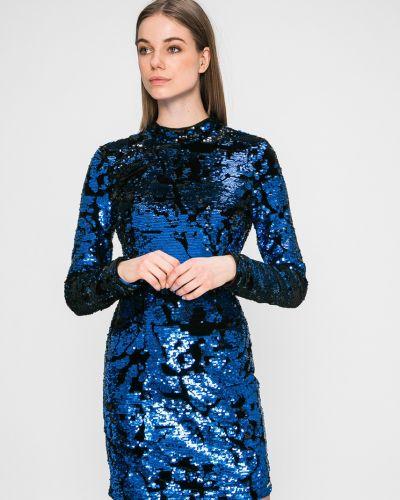 Облегающее платье однотонное с пайетками Guess Jeans