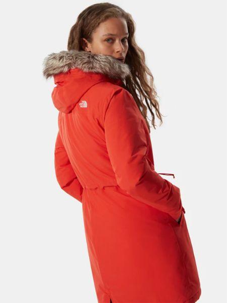 Оранжевая куртка The North Face
