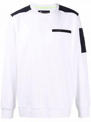 Biała bluza bawełniana Moose Knuckles
