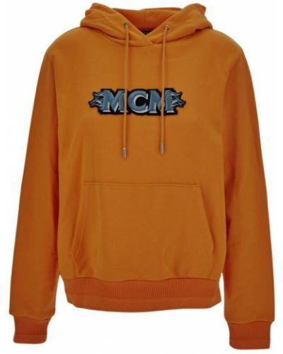 Pomarańczowa bluza Mcm