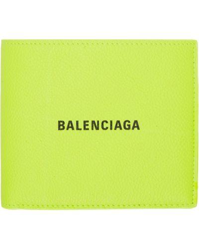 Portfel skórzany - czarny Balenciaga