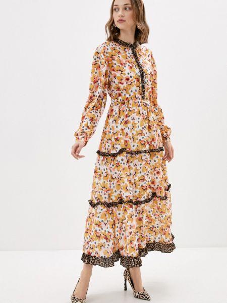 Вечернее платье желтый весеннее Sister Jane
