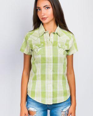 Классическая рубашка в клетку повседневная Time Of Style