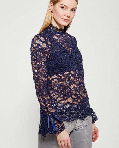 Блузка синяя Wallis