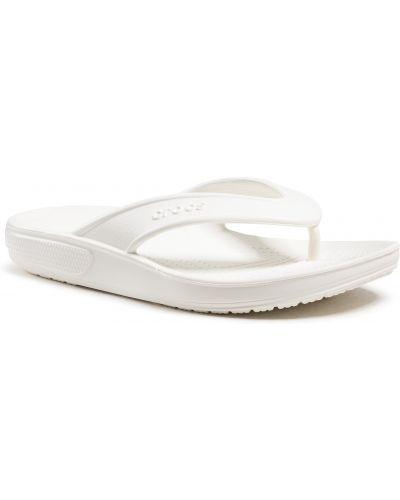 Klasyczne białe sandały japonki Crocs