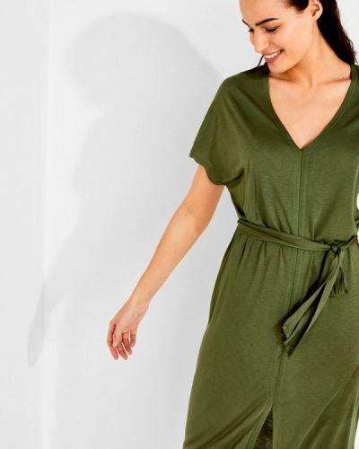 Пляжное платье осеннее зеленый Women'secret