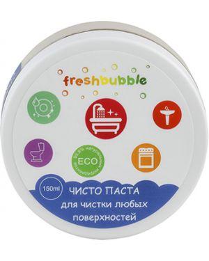 Зубная паста натуральная домашний Freshbubble