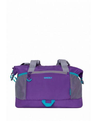 Спортивная сумка фиолетовый Grizzly