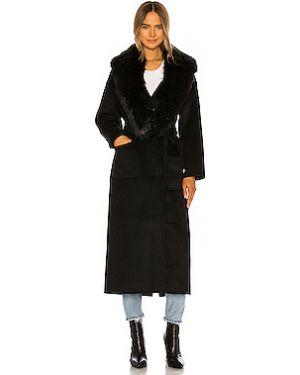 Пальто без воротника шерстяное Anine Bing