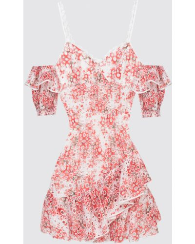 Красное платье миди Charo Ruiz