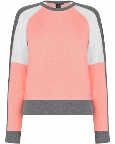 Prążkowana klasyczna bluza długa z długimi rękawami La Gear