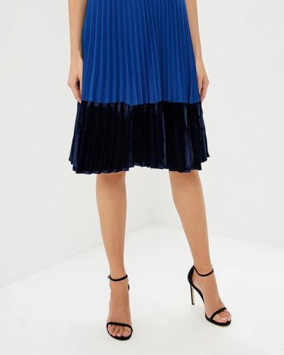 Синяя юбка Pinko