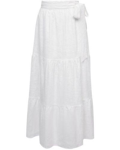 Льняная юбка - белая Faithfull The Brand