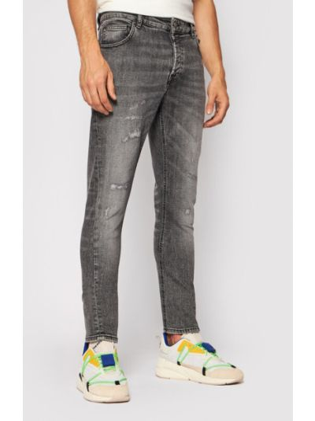 Szare mom jeans Tigha