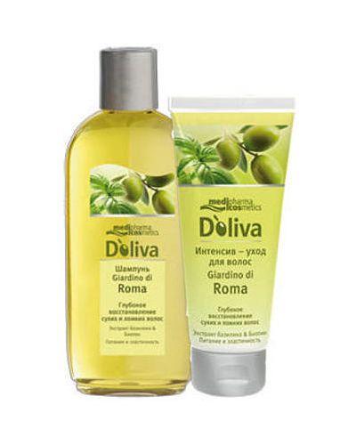 Шампунь для волос очищающий восстанавливающий Doliva