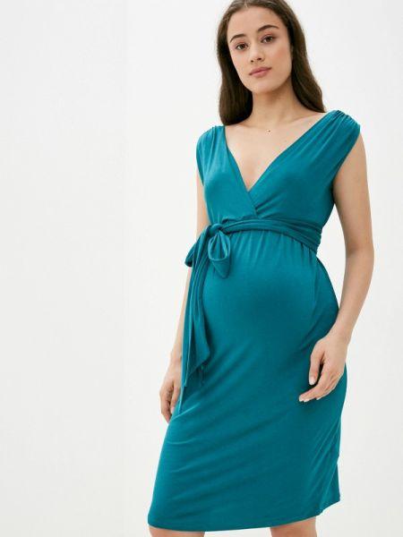 Платье прямое зеленый Envie De Fraise