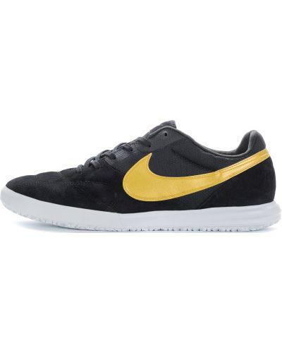 Черные бутсы футбольные Nike