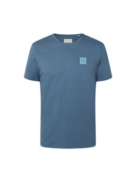 T-shirt bawełniana - niebieska Marc O'polo Denim