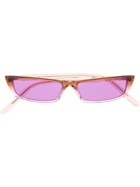 Okulary przeciwsłoneczne dla wzroku chudy karmazynowy Acne Studios